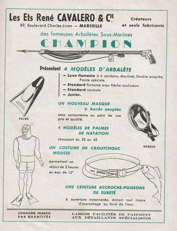 ANCIENNE-PUBLICITE-1949-PLONGEE-ACCESSOIRES-ETS.jpg
