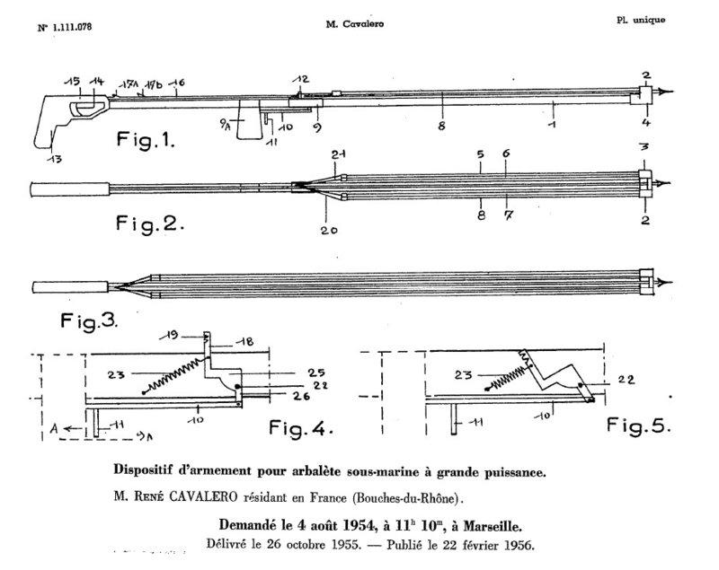 Champion Requin speargun patent 1954.jpg