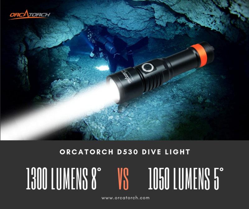 D530 1300 LUMENS 8° VS 1050 LUMENS 5°.jpg