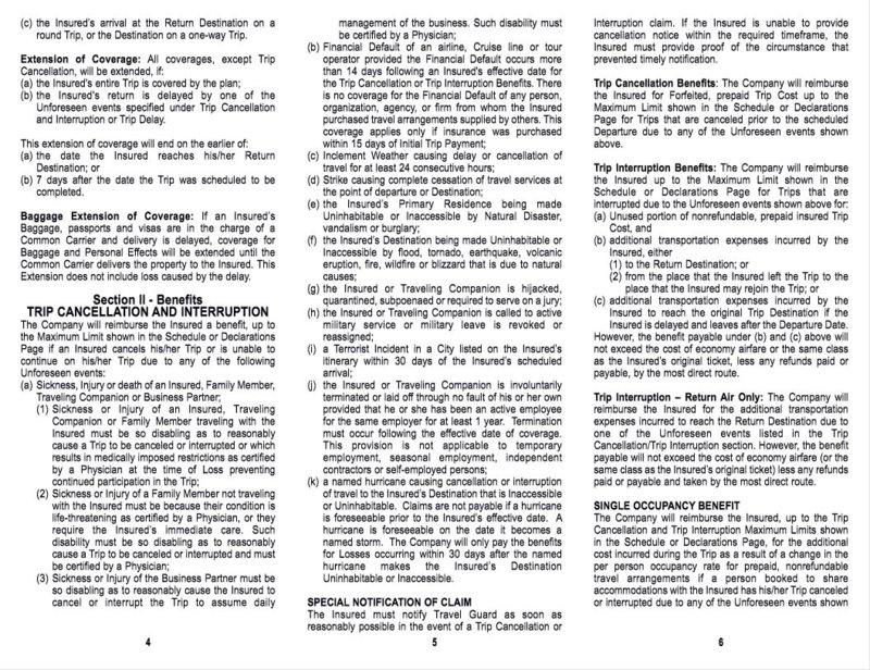"""Allianz """"Trip Insurance"""" - Merry Xmas & Screw you   Page 5 ..."""